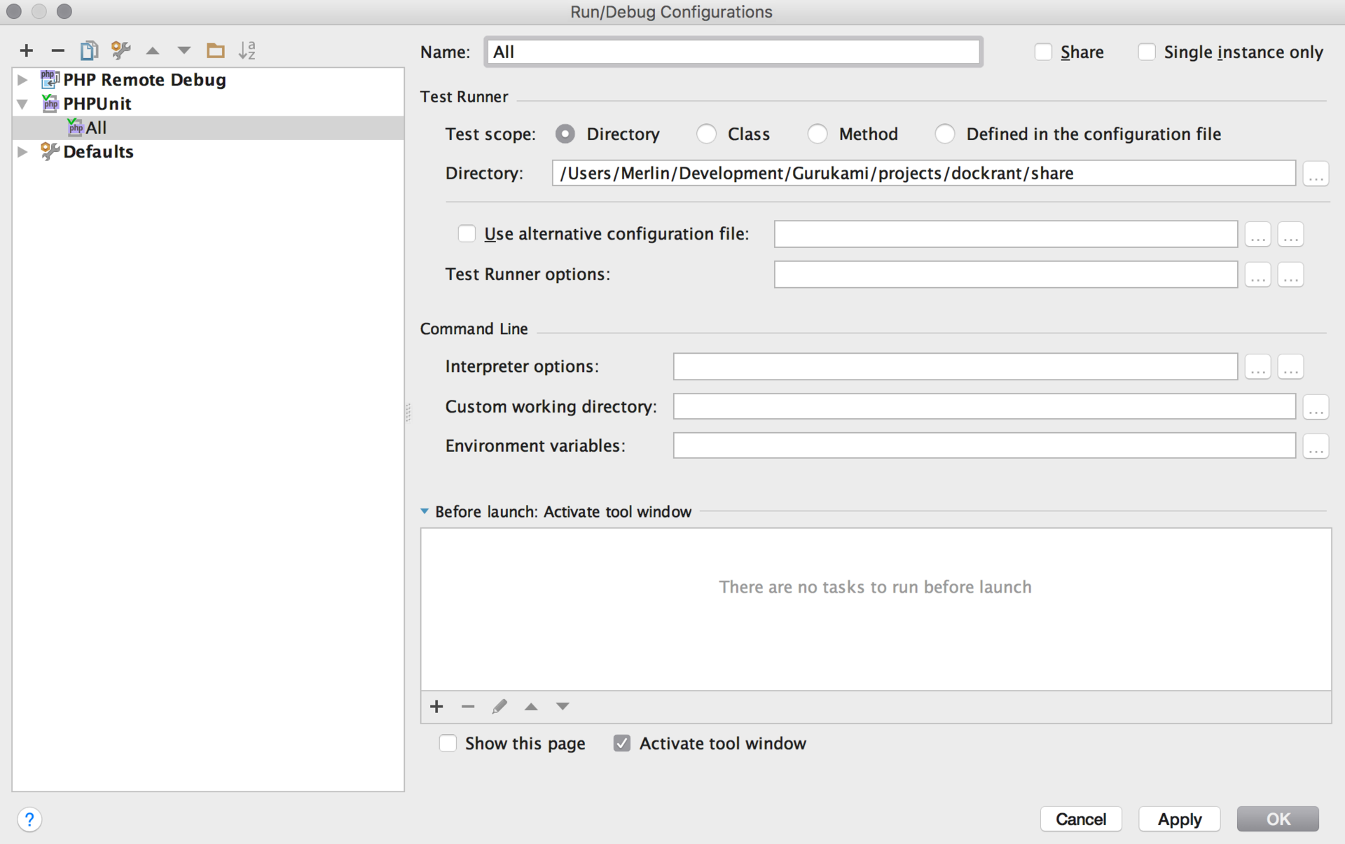 Настройка окружения для PHP разработчиков - 18