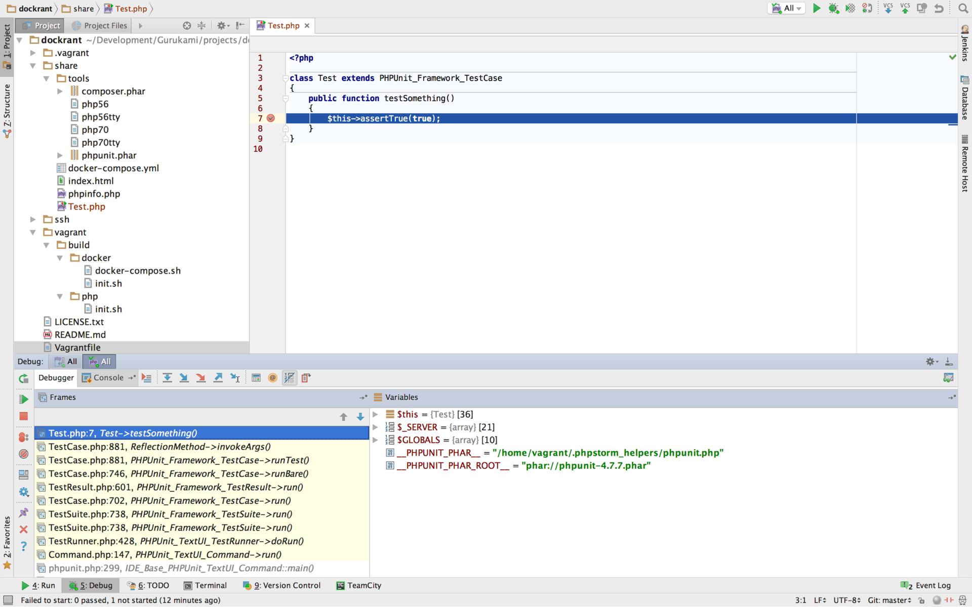 Настройка окружения для PHP разработчиков - 22