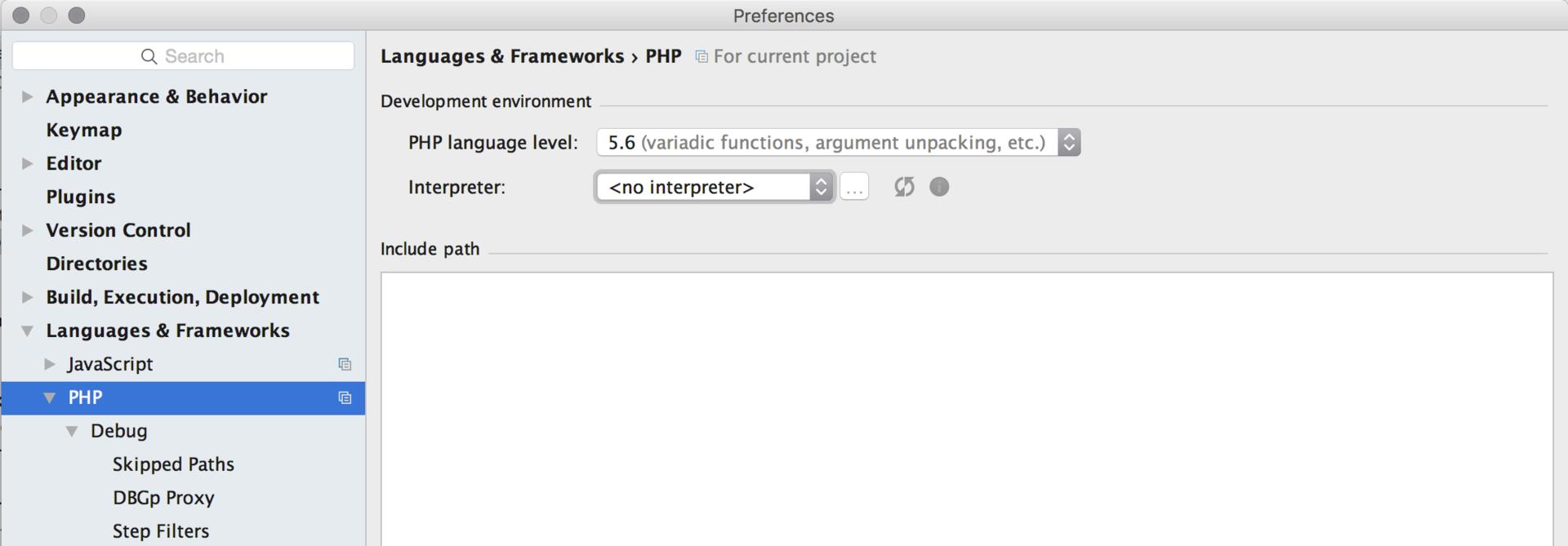 Настройка окружения для PHP разработчиков - 4