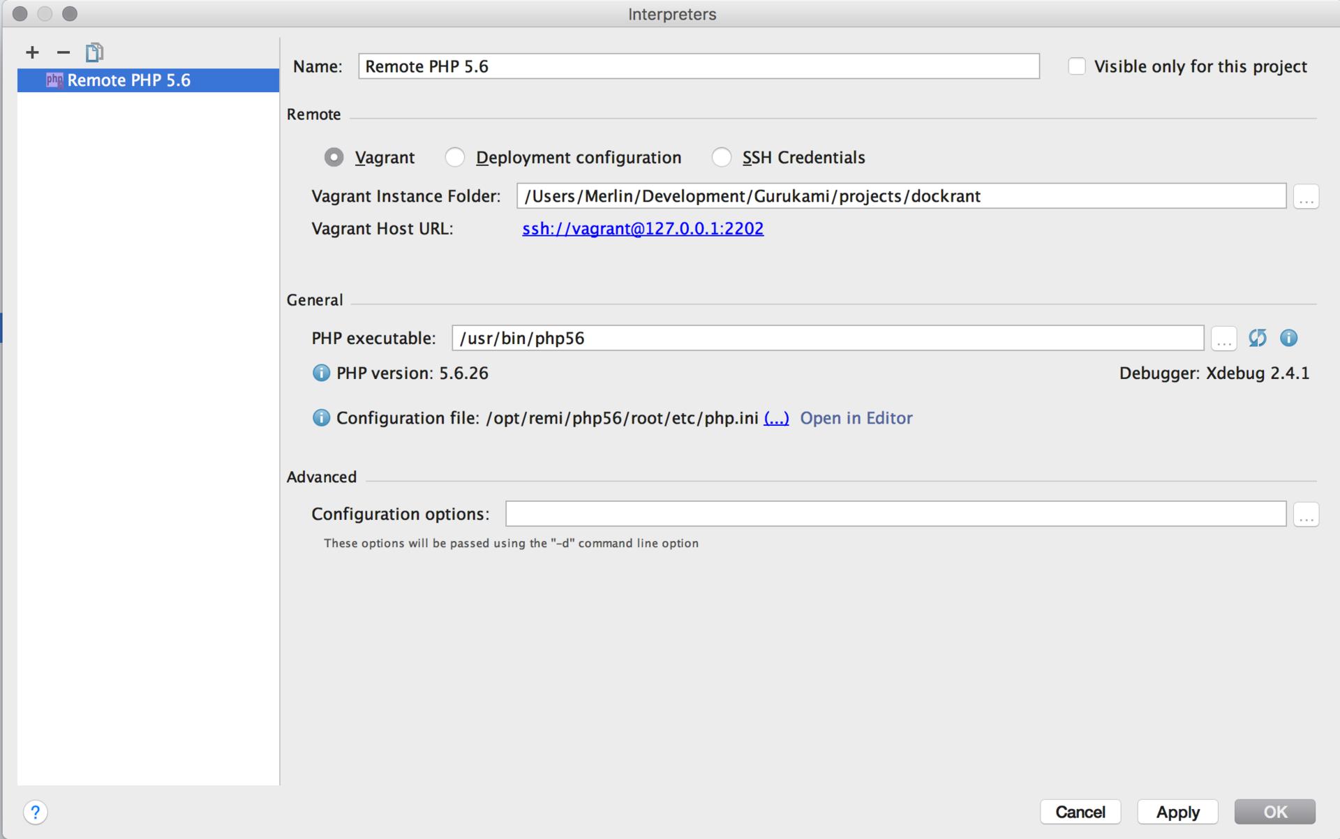 Настройка окружения для PHP разработчиков - 7
