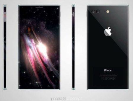 Смартфону iPhone 8 Plus прочат изогнутый дисплей OLED
