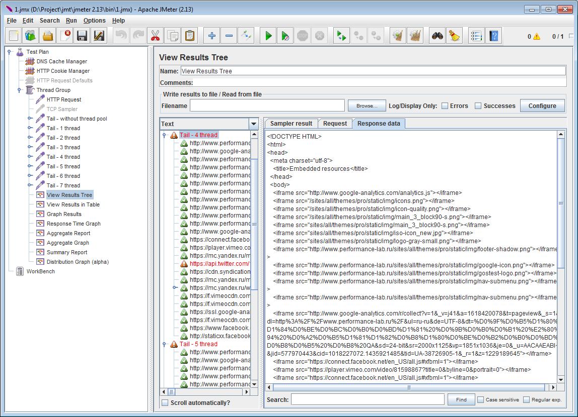 TailSampler — паралельная отправка GET-запросов в Apache.JMeter - 13