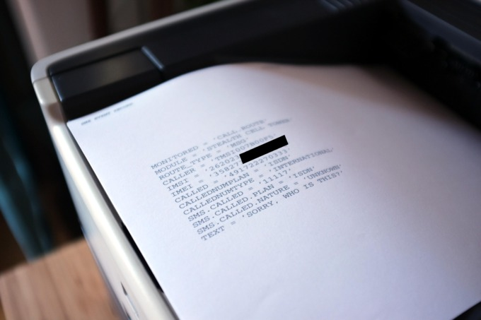 Базовую станцию GSM спрятали в офисном принтере - 5