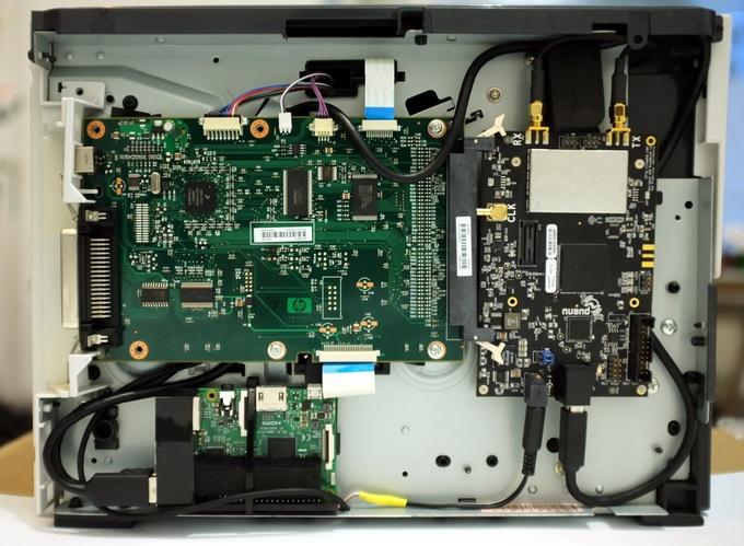 Базовую станцию GSM спрятали в офисном принтере - 6