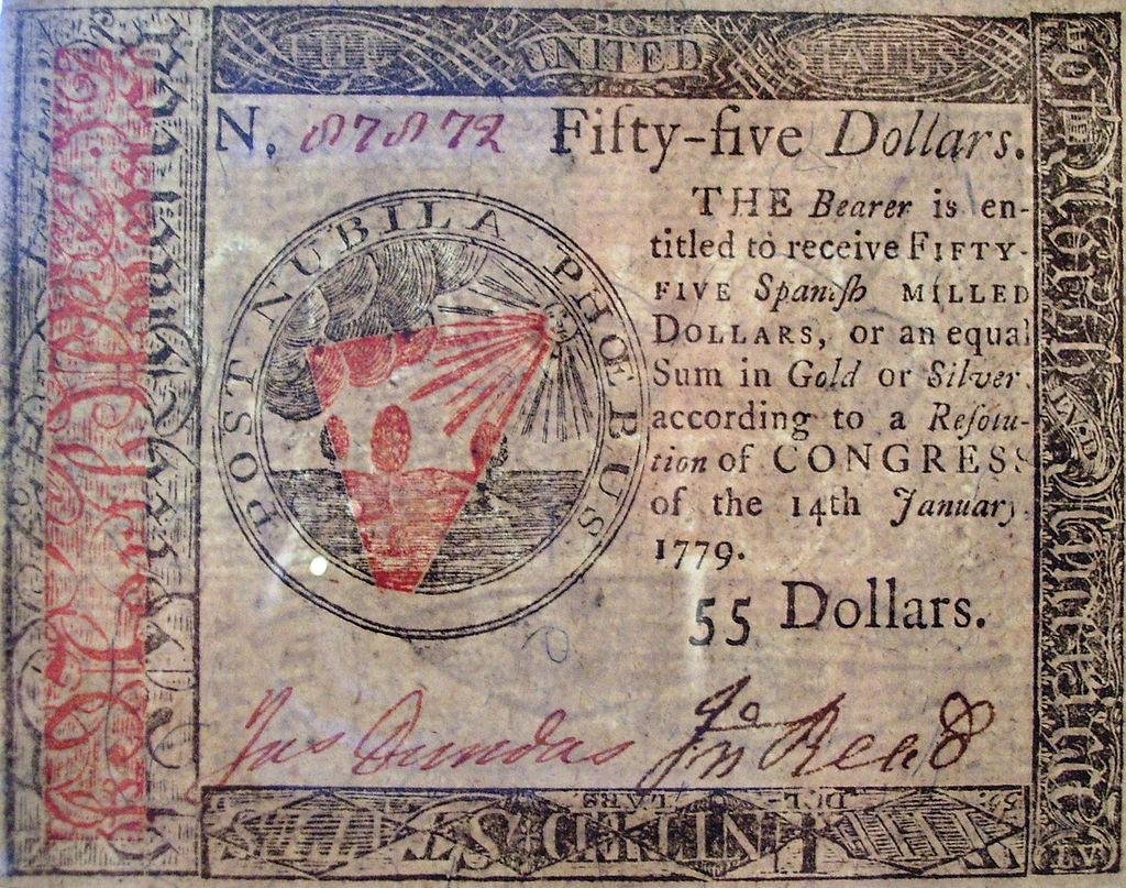 Бумажные деньги — когда и почему они появились - 10