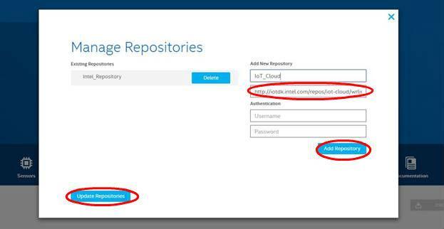 Подключение шлюзов Intel для интернета вещей к AWS и обмен данными с облаком при помощи Node-RED или Python - 4