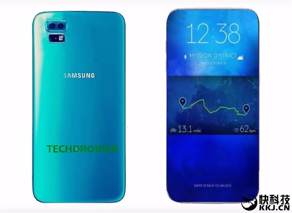 В 2017 году дисплеи смартфонов Samsung будут занимать более 90% площади лицевой панели, к 2019 году — 99%