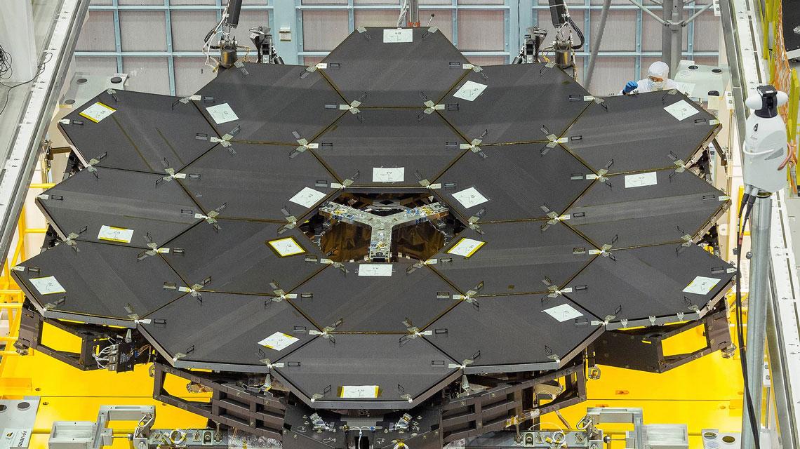 НАСА завершило предварительные тесты зеркала телескопа «Джеймс Уэбб» - 2