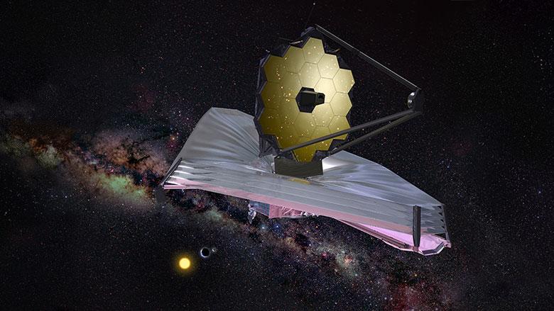 НАСА завершило предварительные тесты зеркала телескопа «Джеймс Уэбб» - 1