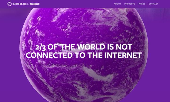 Бесплатным интернетом от Facebook пользуются более 40 млн человек