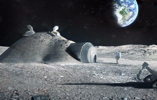 НАСА построит базу на Луне