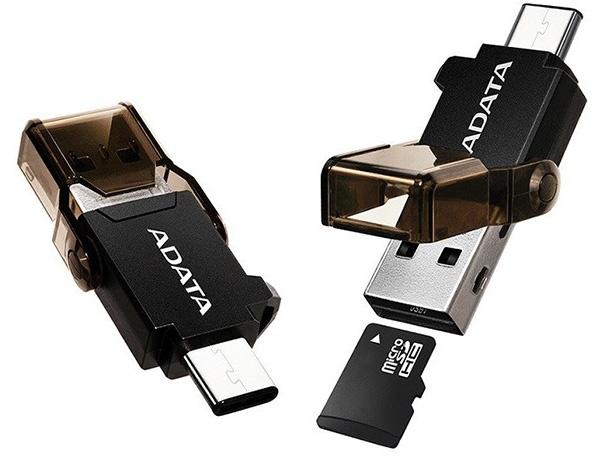 Кабели ADATA USB-C OTG READER