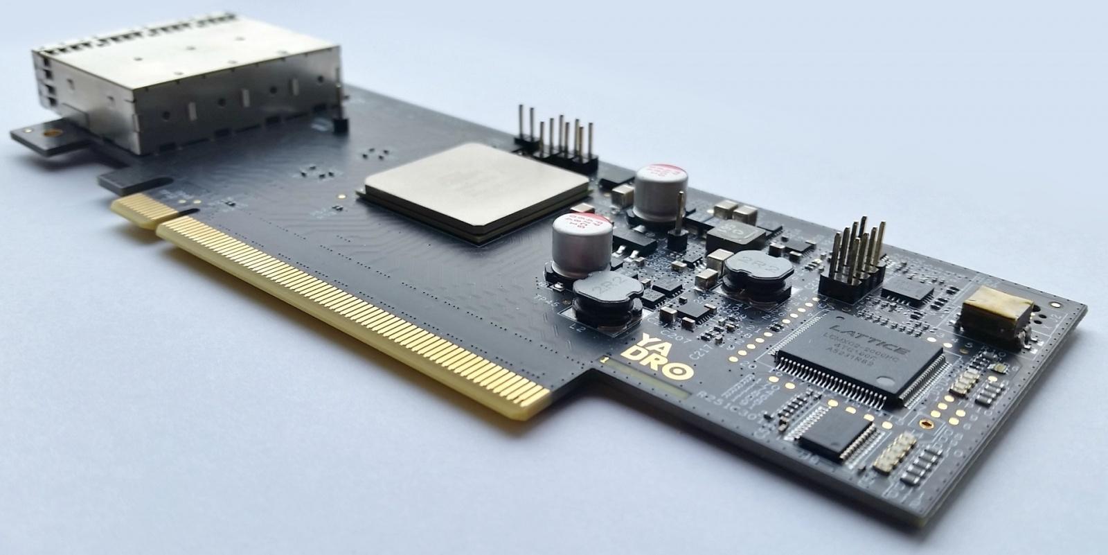 Как подружить PCIe с 10-метровыми медными кабелями и 100-метровой оптикой - 1