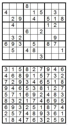 Судоку: так сколько же их? Часть 1-2 - 2