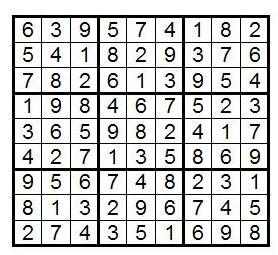 Судоку: так сколько же их? Часть 1-2 - 7