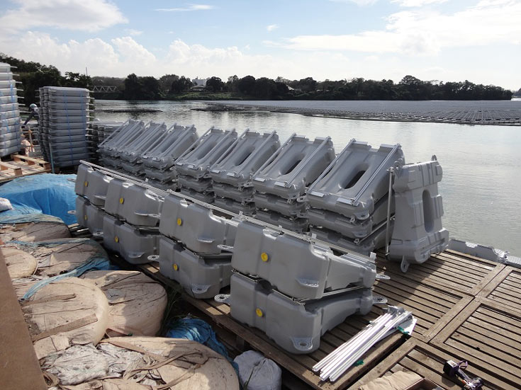Проектная мощность электростанции, включающей 50 904 панели производства Kyocera, составляет 13,7 МВт