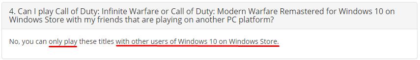 Microsoft возвращает деньги покупателям Call of Duty: Infinite Warfare в Windows Store - 2