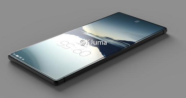 Опубликованы концепт-арты полностью безрамочного смартфона Meizu