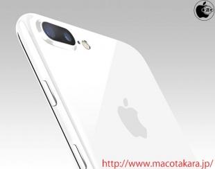 Смартфоны iPhone 7 и iPhone 7 Plus могут стать доступными в цвете Jet White