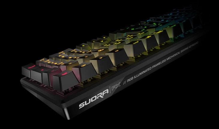 Клавиатура Roccat Suora FX получила металлическое шасси и механические переключатели