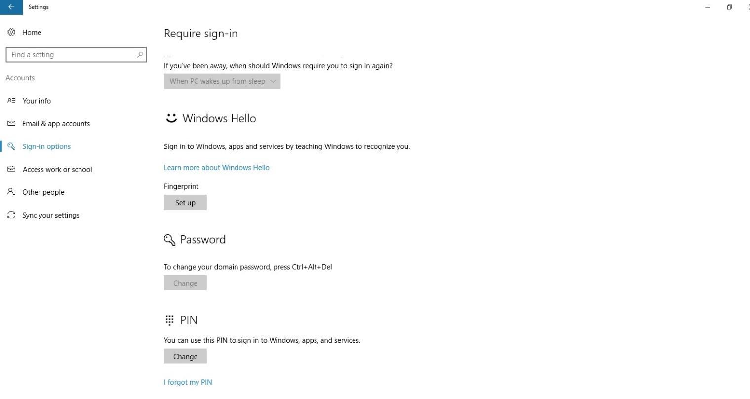 Управление проверкой личности с помощью Windows Hello для бизнеса - 3