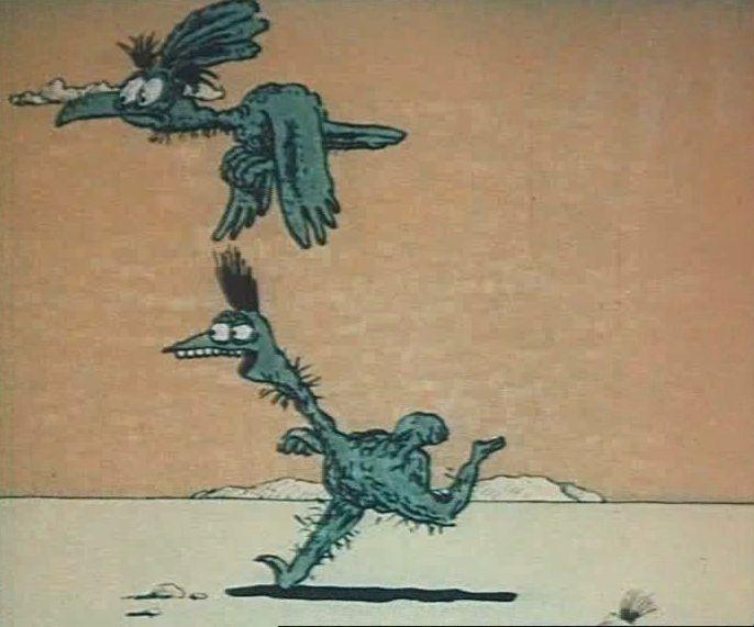 Картинки из мультика крылья ноги хвост