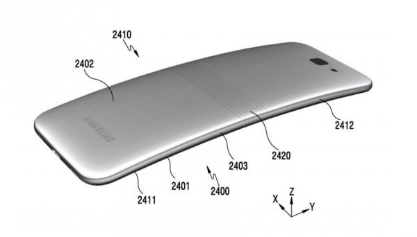 Патентная подкладка смартфона Samsung Galaxy X - 2