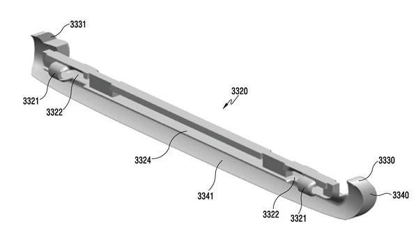 Патентная подкладка смартфона Samsung Galaxy X - 7