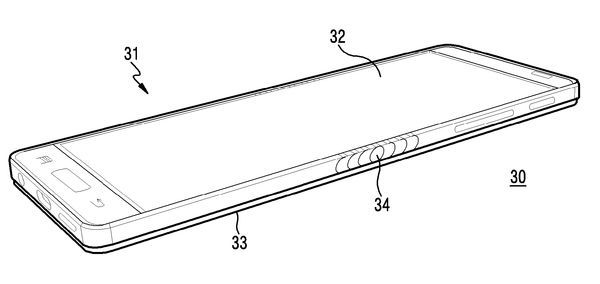 Патентная подкладка смартфона Samsung Galaxy X - 1