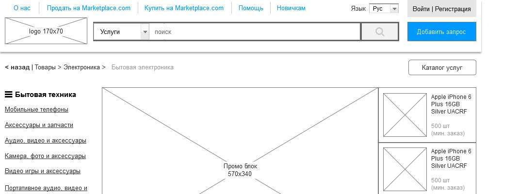 Проектирование большого проекта на примере аналога Alibaba.com - 9