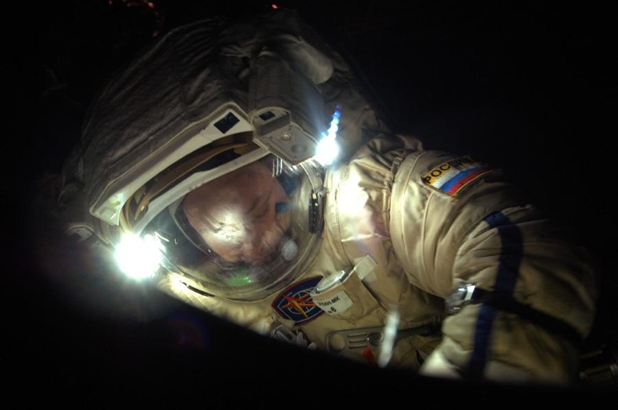 Разговор с космонавтом Александром Мисуркиным - 9