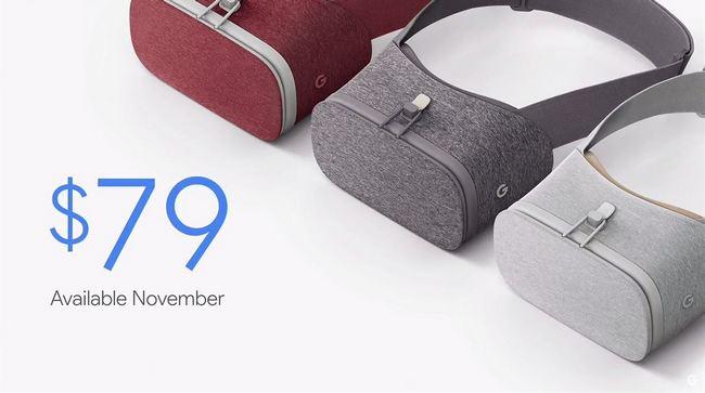В продажу поступает VR-гарнитура Daydream View. В Google Play появилось приложение YouTube VR