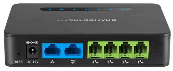 Адаптер Grandstream HT814 поддерживает до четырех профилей SIP