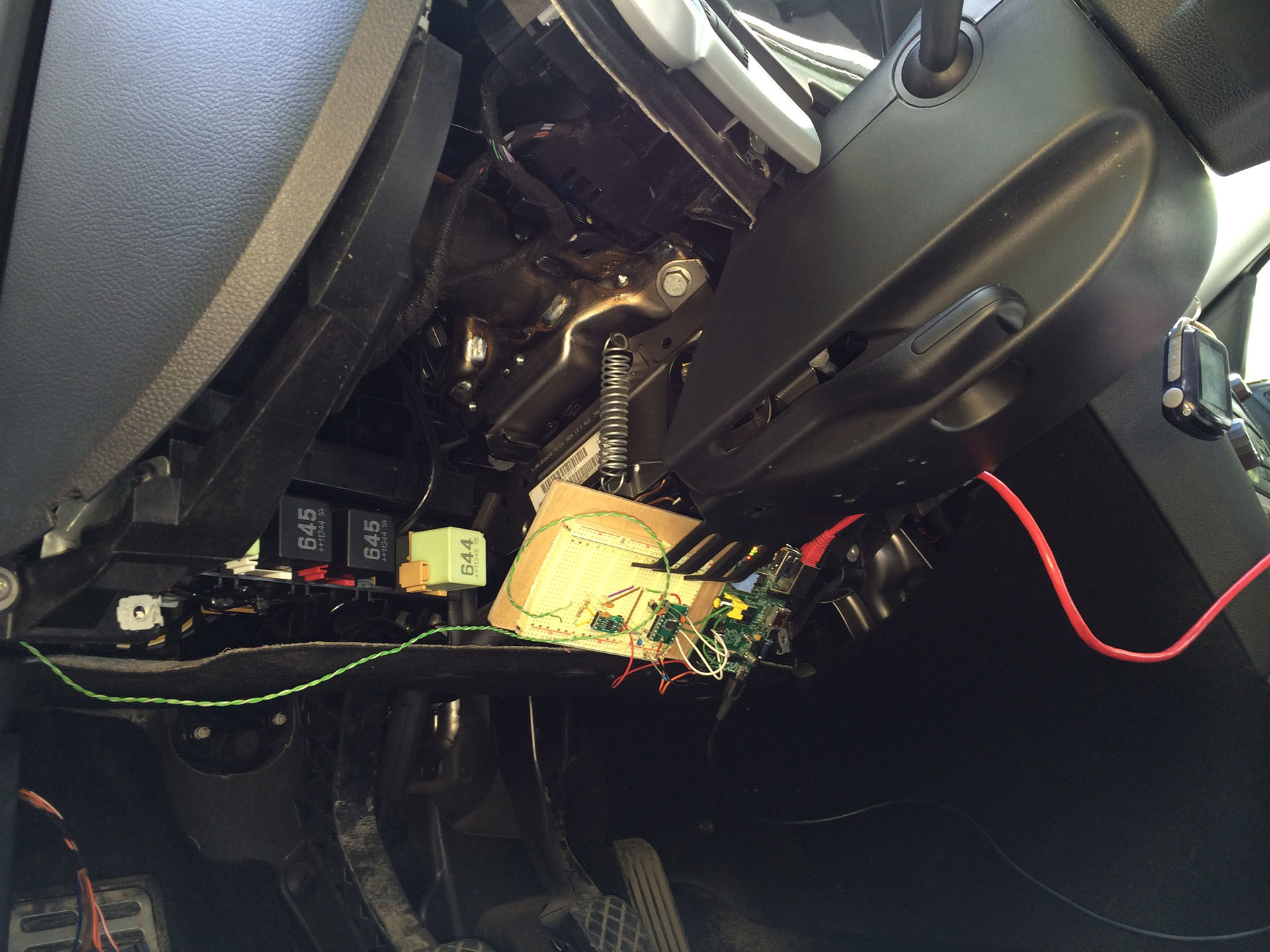 Хакаем CAN шину авто для голосового управления - 1