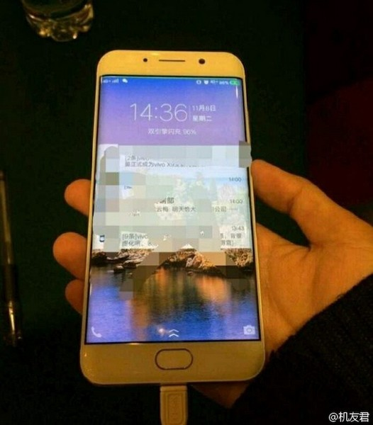Смартфон Vivo Xplay 6 получит изогнутый дисплей
