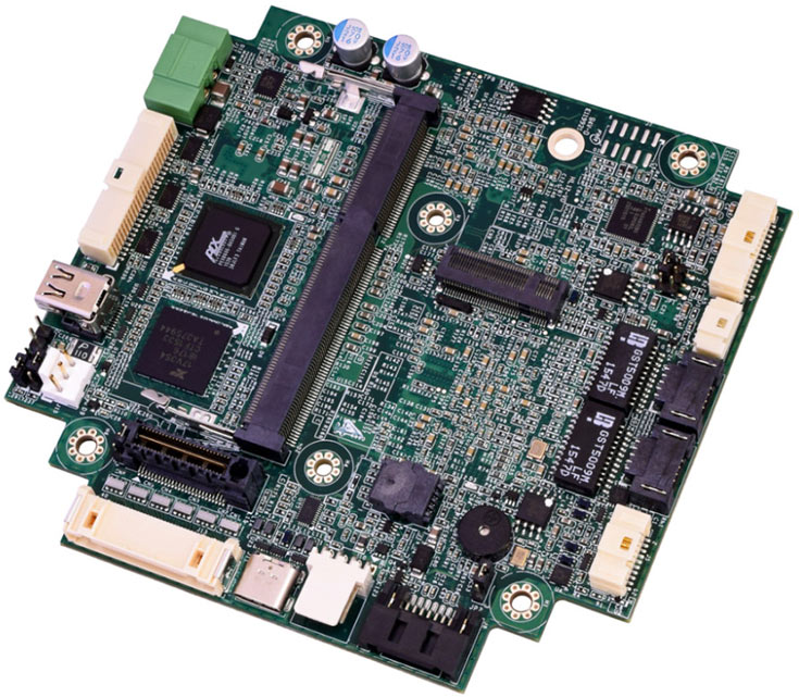 Одноплатный компьютер WinSystems PX1-C415 типоразмера PCIe/104 OneBank оснащен двумя портами Gigabit Ethernet
