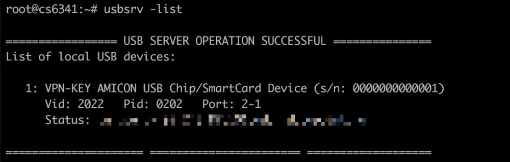 Пробрасываем USB–ключ в облако (Linux клиент — Linux сервер) - 2