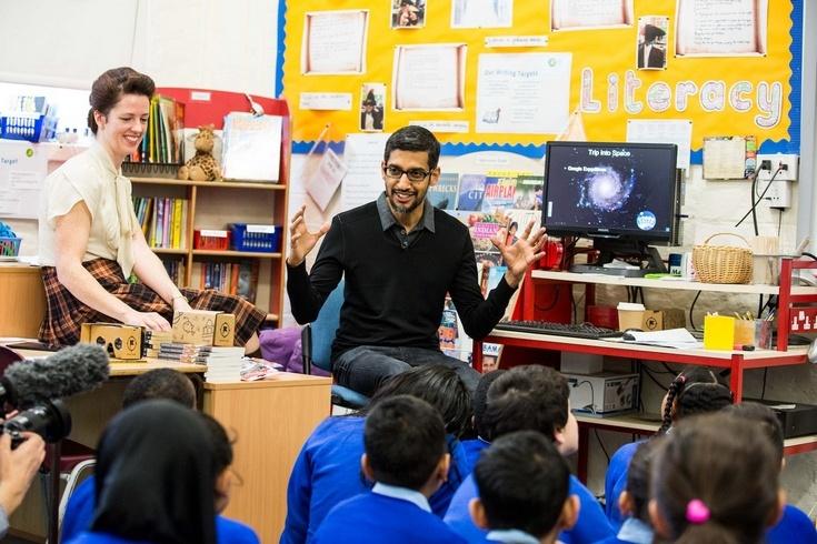 Google покажет учителям, как использовать виртуальную реальность в обучающем процессе