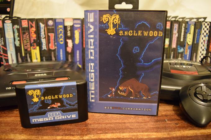 Любитель олдскульных игровых консолей создает игру для Sega Mega Drive - 1