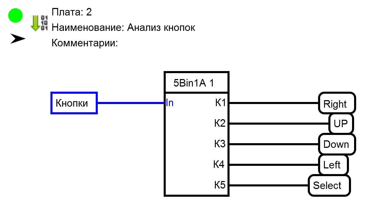 Создание меню с помощью программы FLProg - 10
