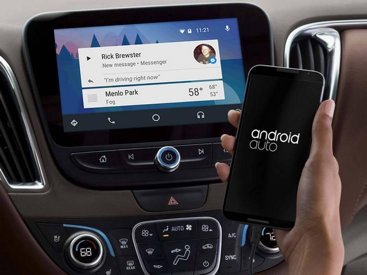 Приложением Facebook Messenge теперь можно пользоваться прямо на автомобильном дисплее