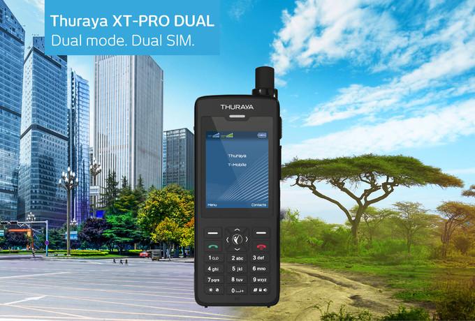 Телефон Thuraya XT-Pro Dual защищён от воды и пыли