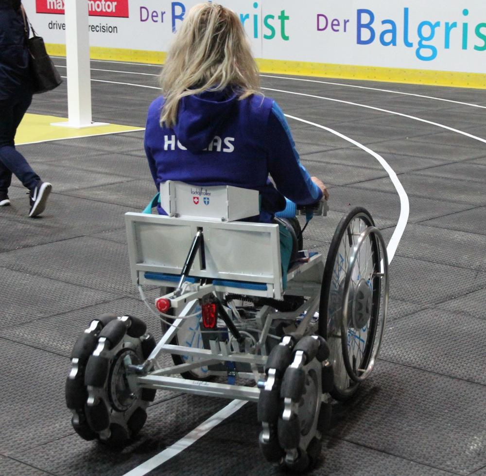 Гонки на инвалидных колясках — фото-видео отчет по Cybathlon 2016 - 18