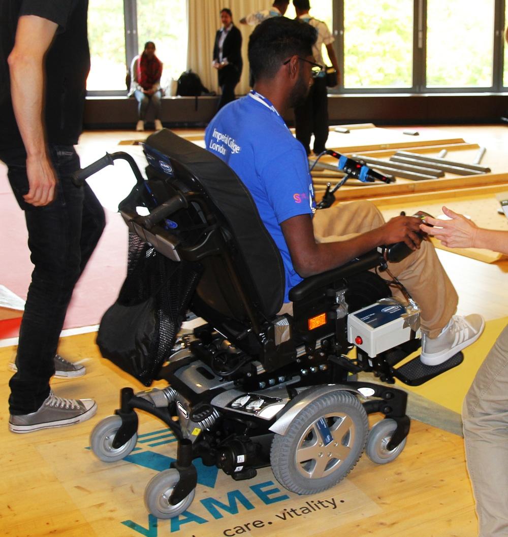 Гонки на инвалидных колясках — фото-видео отчет по Cybathlon 2016 - 19