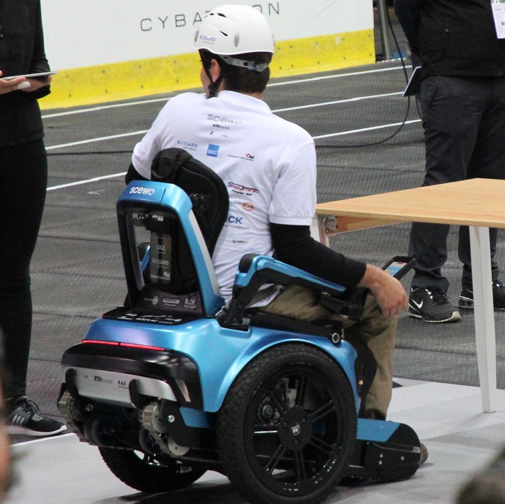 Гонки на инвалидных колясках — фото-видео отчет по Cybathlon 2016 - 20