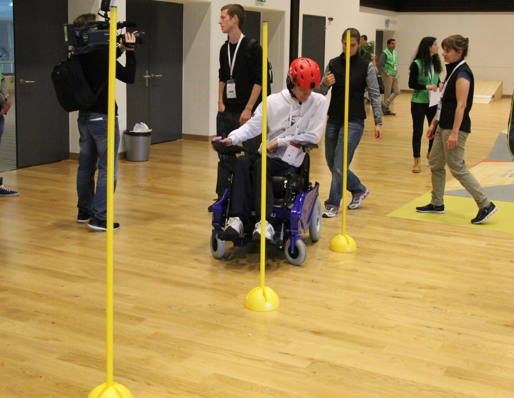Гонки на инвалидных колясках — фото-видео отчет по Cybathlon 2016 - 4