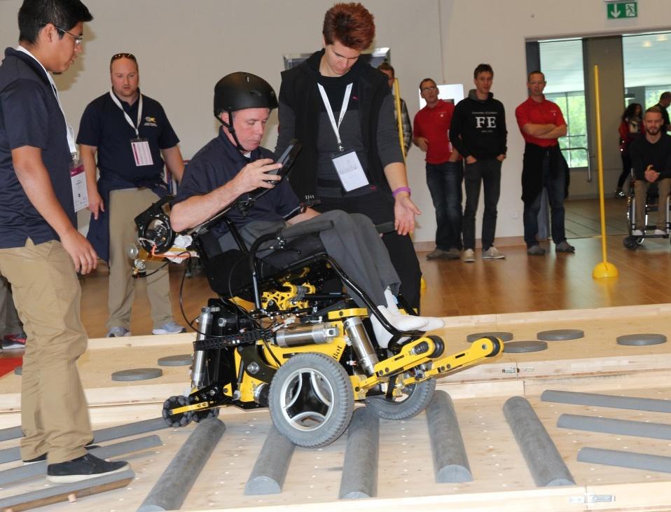 Гонки на инвалидных колясках — фото-видео отчет по Cybathlon 2016 - 6