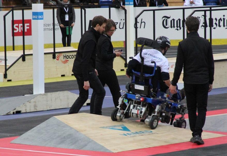 Гонки на инвалидных колясках — фото-видео отчет по Cybathlon 2016 - 7