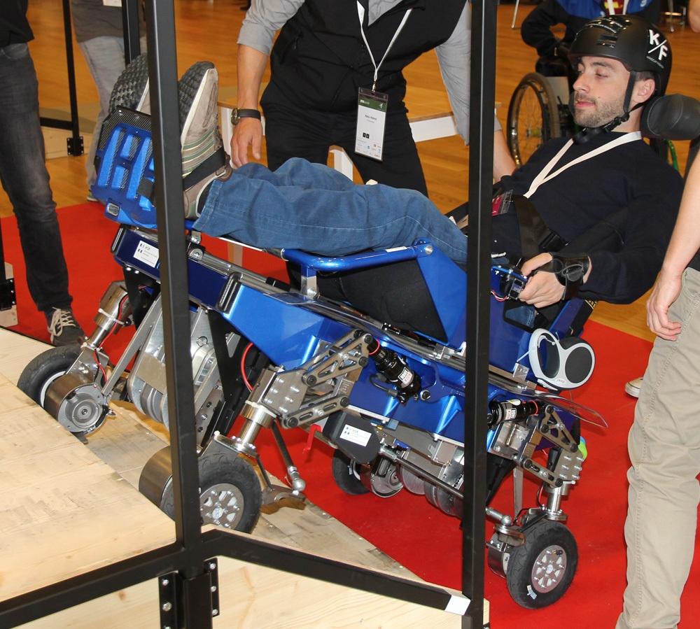 Гонки на инвалидных колясках — фото-видео отчет по Cybathlon 2016 - 9