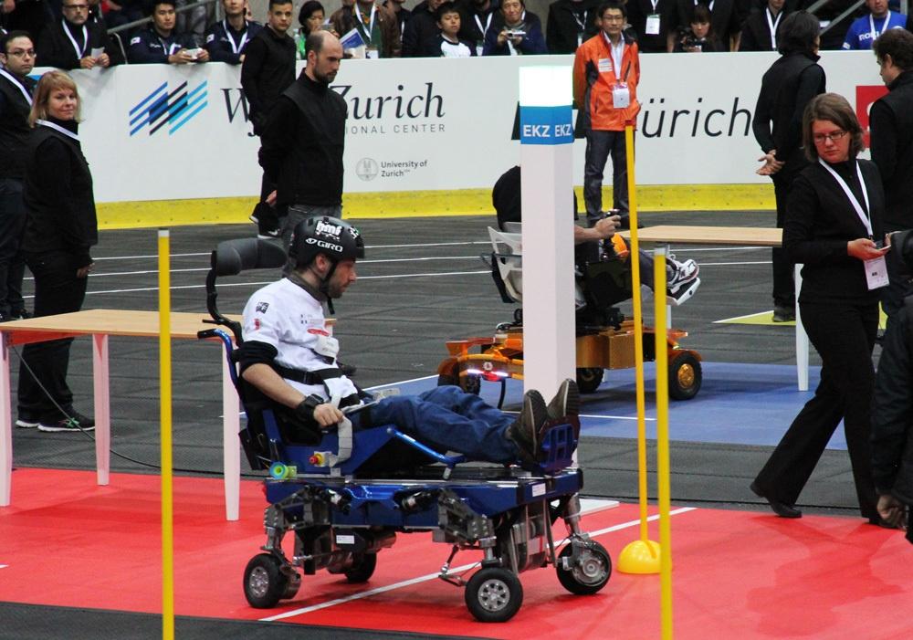 Гонки на инвалидных колясках — фото-видео отчет по Cybathlon 2016 - 1